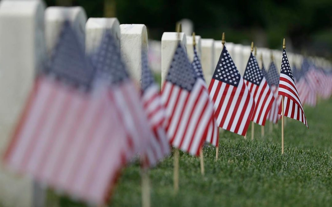 VOLUNTEERS NEEDED!  ANNUAL MEMORIAL DAY FLAG PLACEMENT AT GREAT LAKES NATIONAL CEMETERY