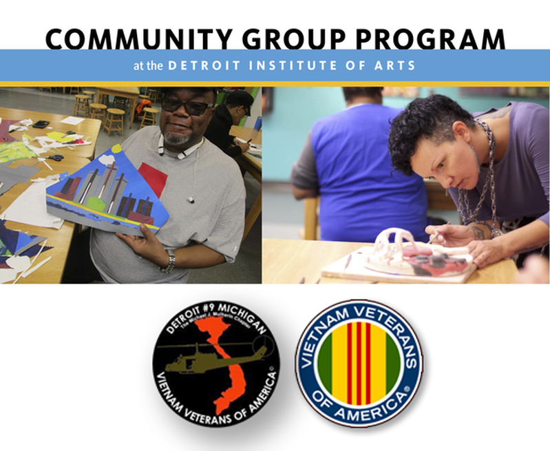 DETROIT INSTITUTE OF ARTS COMMUNITY GROUP PROGRAM OPEN HOUSE FOR VETERANS