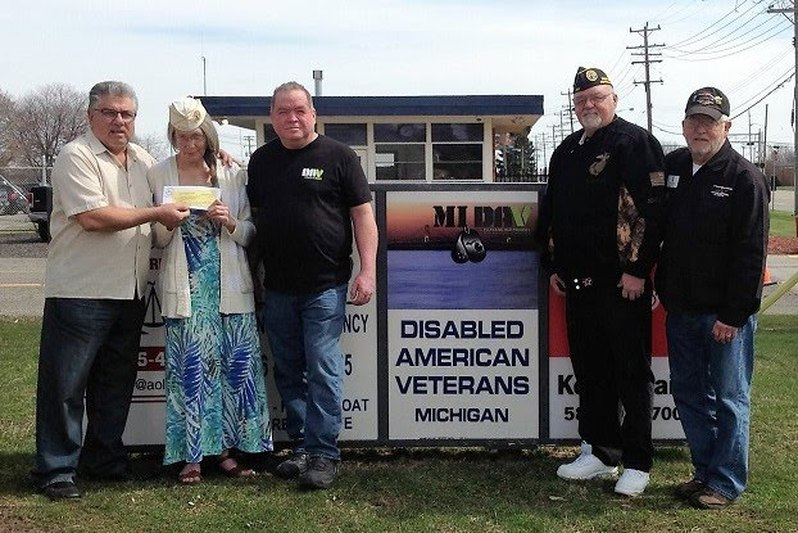 CHAPTER DONATES TO WCXI 1160 AM MILITARY VETERANS RADIO TALK SHOW