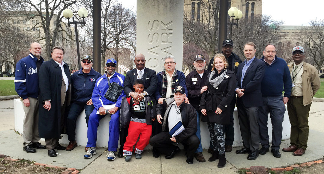ARMED FORCES DAY IN DETROIT IN COMMEMORATION OF THE 50-YEAR ANNIVERSARY OF THE VIETNAM WAR.