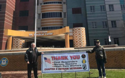 Veterans create mask donations to Detroit VA hospital