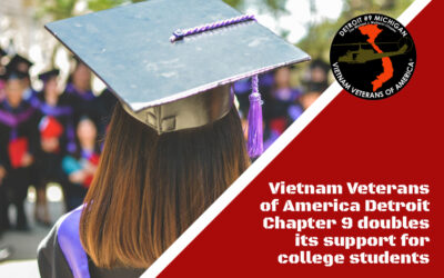 Vietnam veterans chapter doubles its support for college students